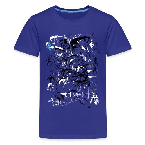 art of shaolin - Teenage Premium T-Shirt