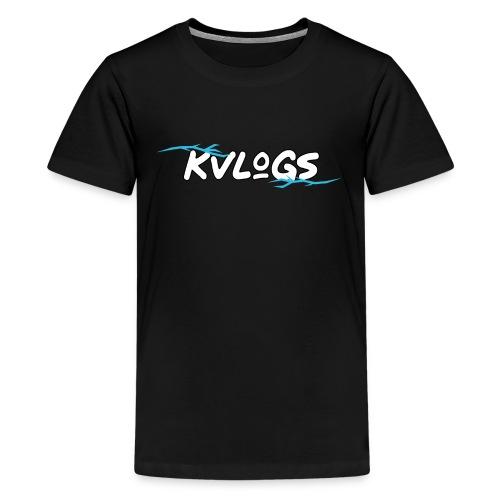 K Vlogs - Teenager Premium T-shirt