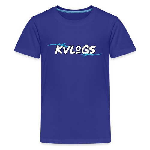 K Vlogs - Teenager Premium T-shirt