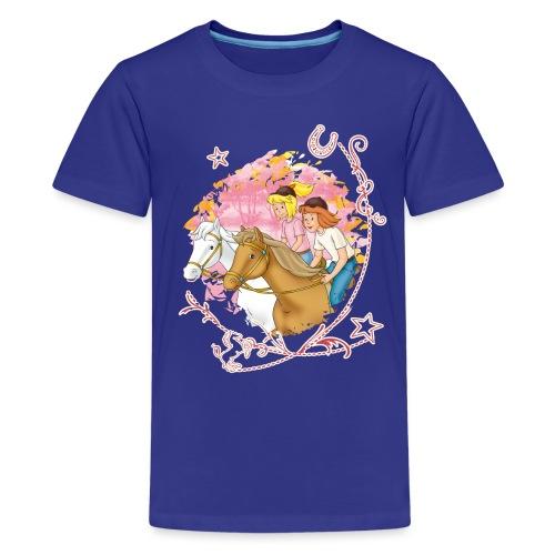 Bibi und Tina 'Wettreiten im Wald' - Teenager Premium T-Shirt