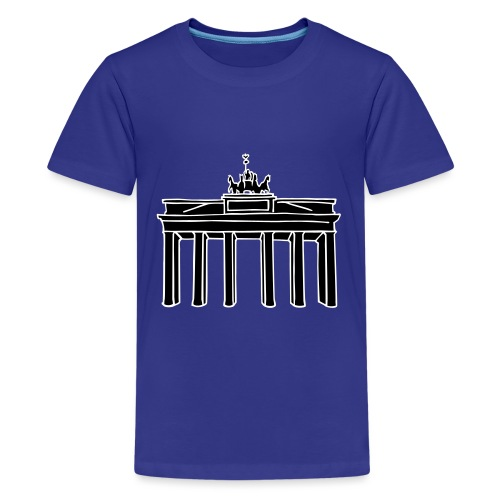BrandenburgerTor Berlin 2 - Teenager Premium T-Shirt
