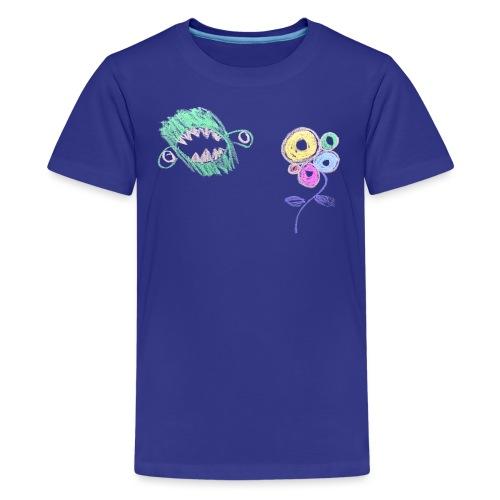 i-hate-flowers - Teenager Premium T-shirt