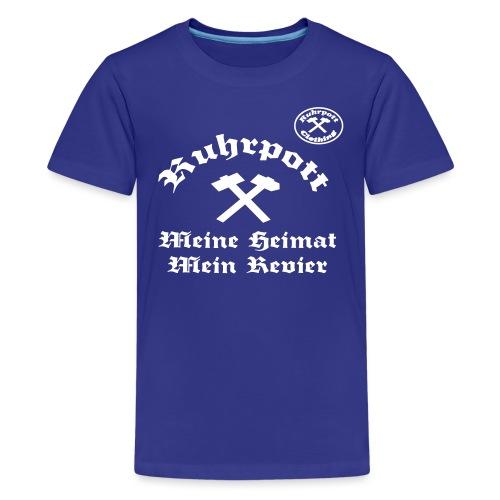 Ruhrpott Meine Heimat Mein Revier rpc - Teenager Premium T-Shirt