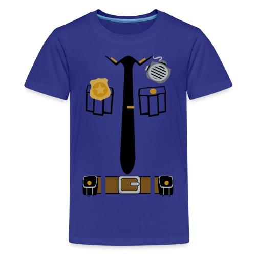 Police Patrol Costume - Teenage Premium T-Shirt