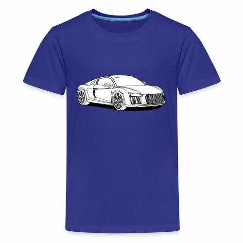 Super Car - Teenage Premium T-Shirt