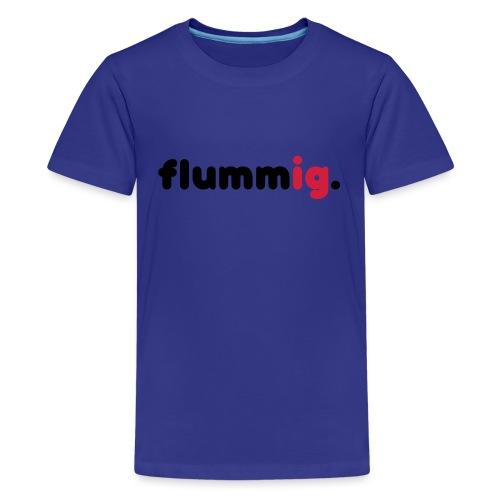 FLUMMIG. - Premium-T-shirt tonåring