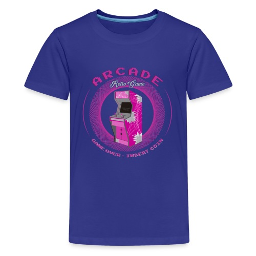 arcade retro game - Camiseta premium adolescente
