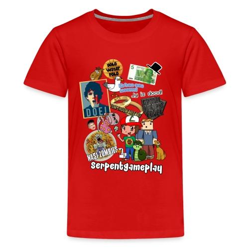 compilatie nieuw - Teenager Premium T-shirt