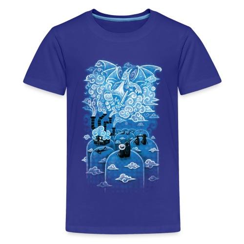 Cloud Concert - Teenage Premium T-Shirt