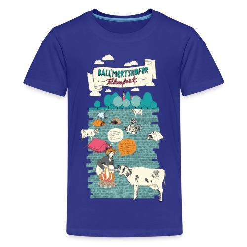 Ballmertshofer Filmfest - Teenager Premium T-Shirt