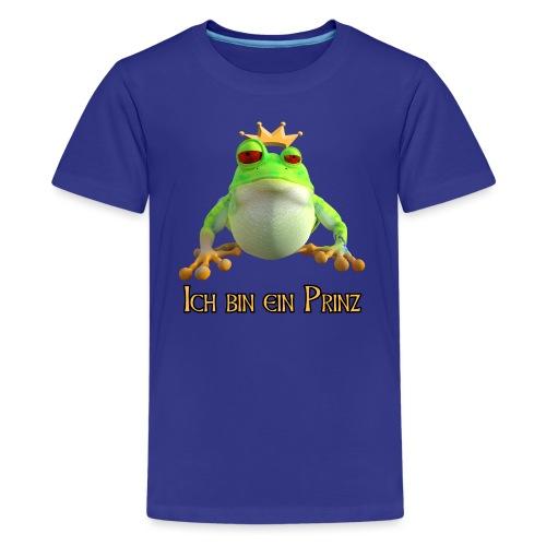 Ich bin ein Prinz - Teenager Premium T-Shirt
