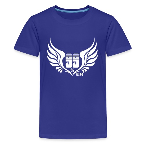 99% - Camiseta premium adolescente