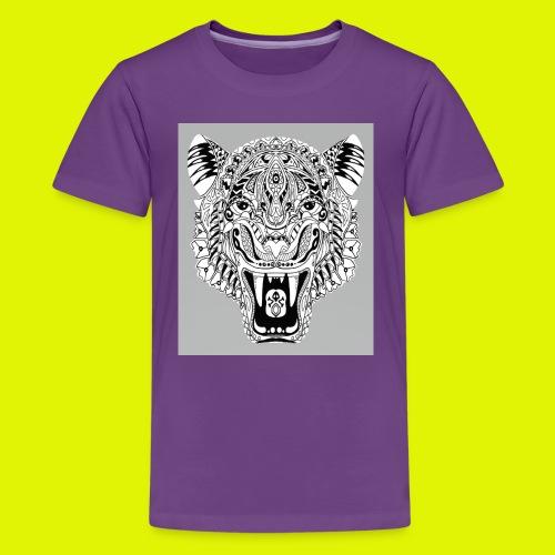 mandala tigre - Maglietta Premium per ragazzi