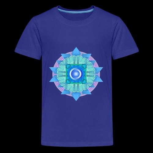 mandala 3 - Teenage Premium T-Shirt
