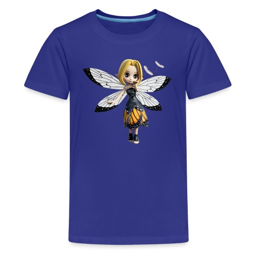 Falterchen - Fairy - Teenager Premium T-Shirt