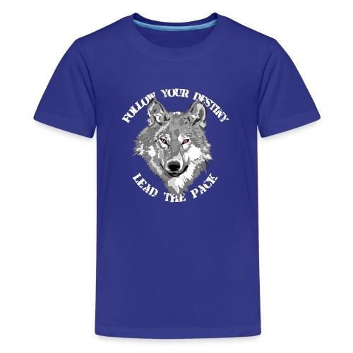 follow your destiny - Teenager Premium T-Shirt