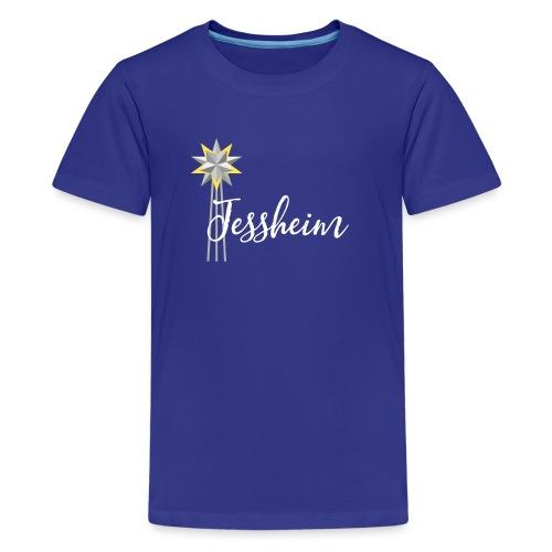 Jessheim Kepler Stjerne - Premium T-skjorte for tenåringer