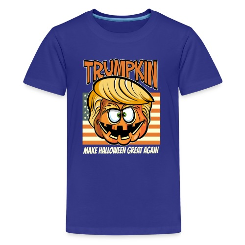 Trumpkin Donald Trump Halloween - Teenager Premium T-Shirt