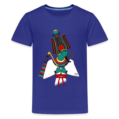 Osiris I altägyptische Gottheit - Teenager Premium T-Shirt