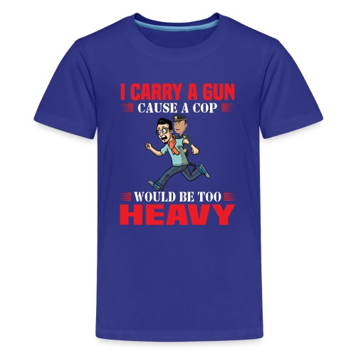 Cops are heavy - Teenager Premium T-Shirt