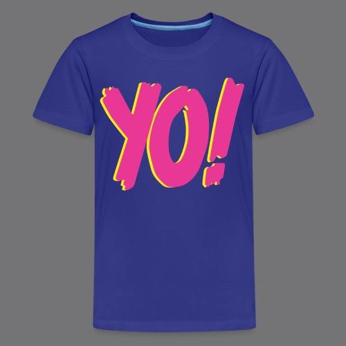 YO Tee Shirts - Teenage Premium T-Shirt