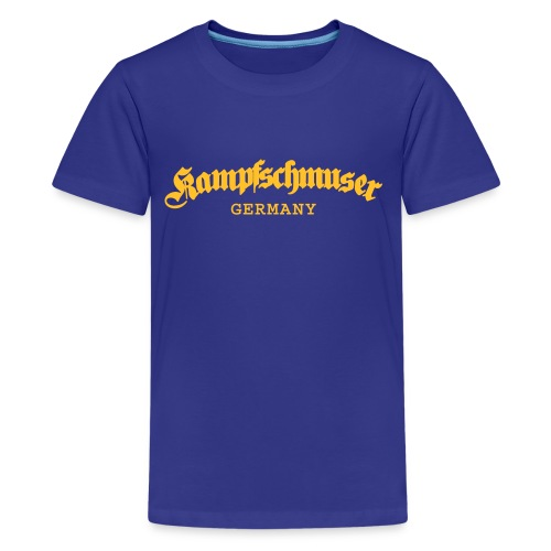 Kampfschmuser Germany - Teenager Premium T-Shirt