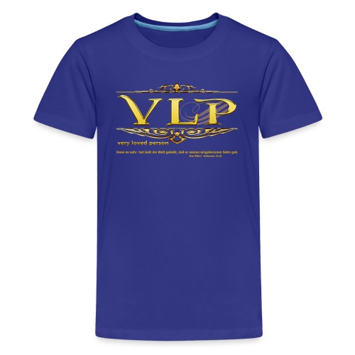 very loved person - Teenager Premium T-Shirt