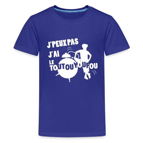 JPEUXPAS BLANC - T-shirt Premium Ado