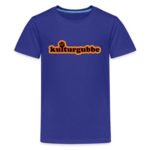 KULTURGUBBE - Premium-T-shirt tonåring