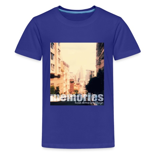 MEMORIES of SAN FRANCISCO - Teenager Premium T-Shirt