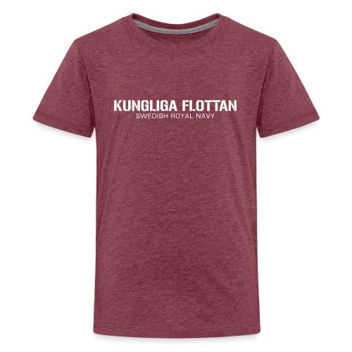 Kungliga Flottan - Swedish Royal Navy - Premium-T-shirt tonåring