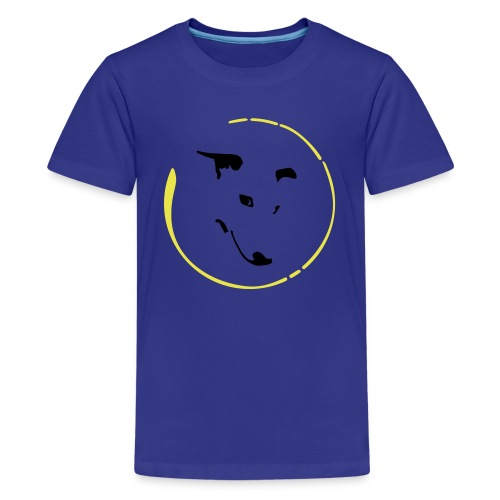 Whippet Virgule cercle - T-shirt Premium Ado