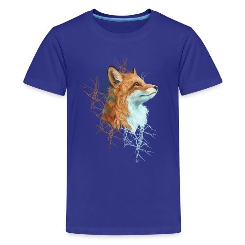 Happy the Fox - Teenager Premium T-Shirt