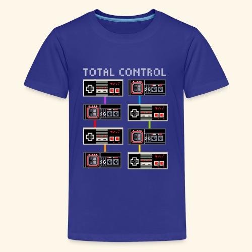 TOTAL CONTROL - Maglietta Premium per ragazzi
