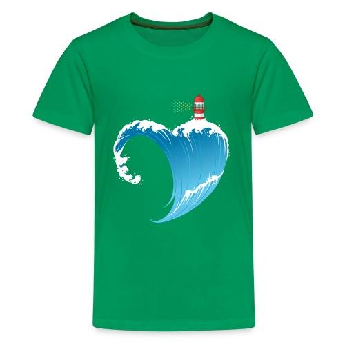 Ostseeherz - Teenager Premium T-Shirt