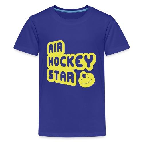 Air Hockey Star - Teenage Premium T-Shirt