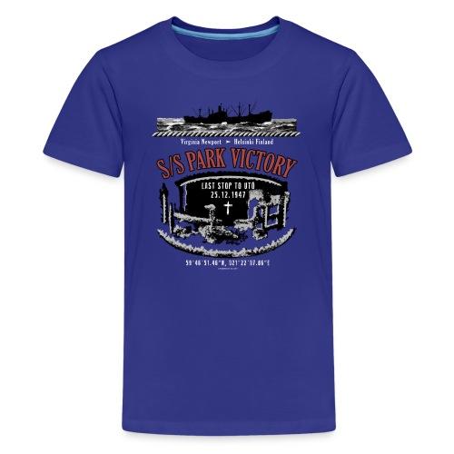 PARK VICTORY LAIVA - Tekstiilit ja lahjatuotteet - Teinien premium t-paita