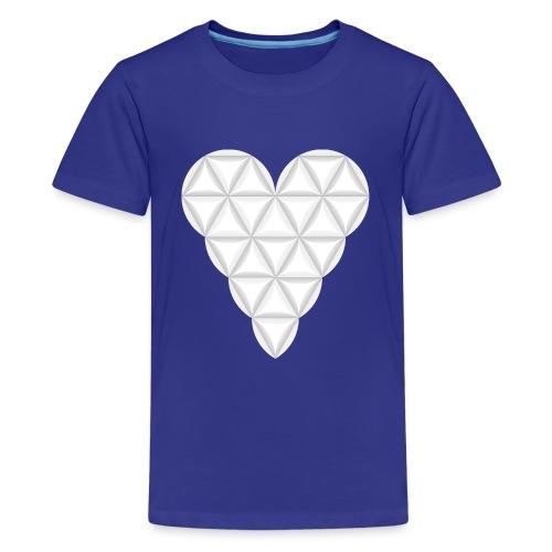 nThe Heart of Life x 1, New Design /Atlantis - 02. - Teenage Premium T-Shirt