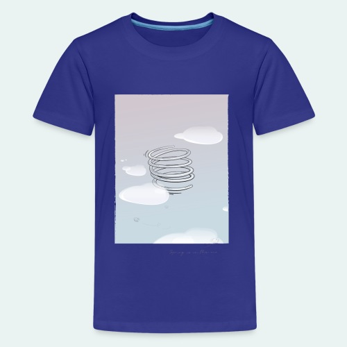 Spring is in the air 02 - T-shirt Premium Ado