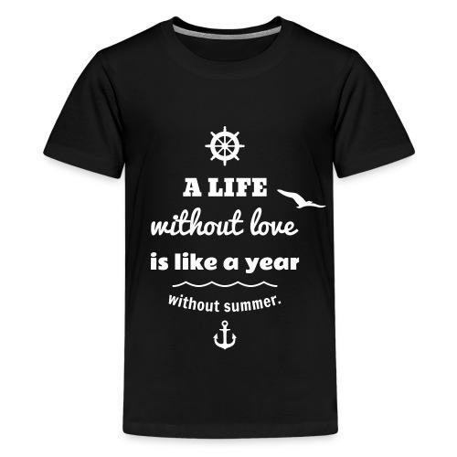 summer - Teenager Premium T-Shirt