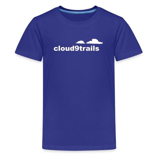 cloud9trails - Teenage Premium T-Shirt