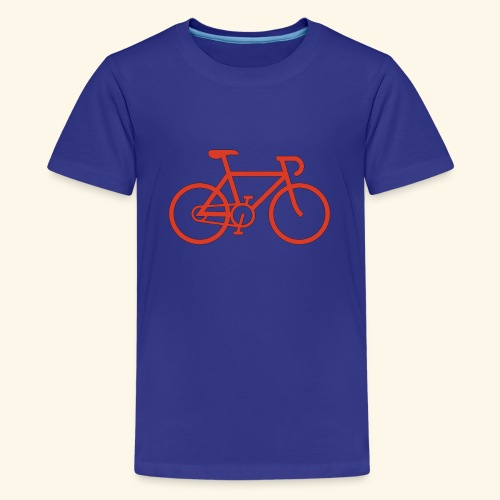 Rennrad, Race-Bike, Fahrrad - Teenager Premium T-Shirt