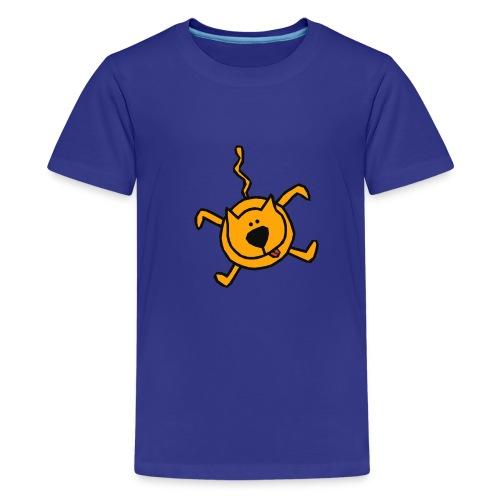 falling cat - Teenager Premium T-shirt