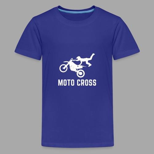 MOTO CROSS - T-shirt Premium Ado