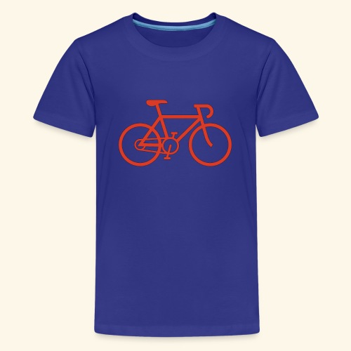 Rennrad, Race-Bike, Fahrrad - Teenager Premium T-Shirt