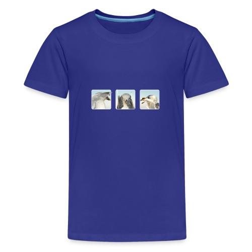 nichts sehen, nichts hören, nichts sagen - Teenager Premium T-Shirt