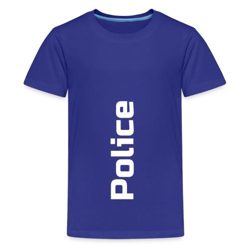 Police simple vertical - T-shirt Premium Ado