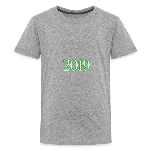 2019 - Teenage Premium T-Shirt