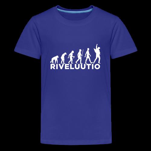 Riveluutio - Teinien premium t-paita