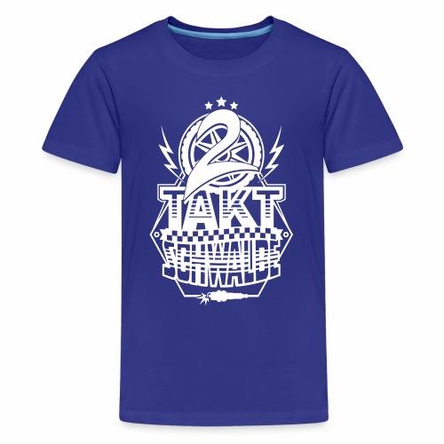 2-Takt-Schwalbe / Zweitaktschwalbe - Teenage Premium T-Shirt